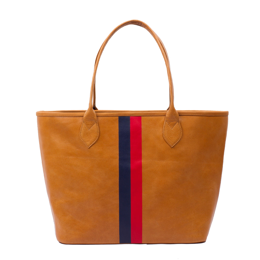 Stripe Tote Carryall