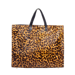 Animal Print Tote; Leopard Print Tote Bag; Tote; Leather Tote; Travel Tote; Printed Tote Handbag; Affordable Tote Bags; Clare V Tote Handbag; Cheetah Print Tote Bag