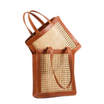 Wicker and Woven Basket Bags; Bag Trend 2019; Summer Rattan Handbags for Women