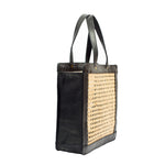 Black Tote bag; Rattan Bag; Rattan Shoulder Bag; Rattan Handbag; Woman Rattan Tote Bag; Rattan Collection; Rattan Bags 2019