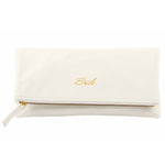 Foldover Clutch-Bridal, Bride-To-Be