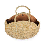 Circle basket bag; straw basket; circle straw bag; round straw bag; beach bag; ata straw bag; circular handbags; woven straw bag; bali circle bag