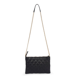 black leather clutch; bags and purses; black quilted leather bag; mz wallace quilted leather metro clutch bag.; black mz wallace quilted leather metro clutch bag; crossbody quilted clutch bag; black crossbody quilted bag; black matelasse leather bag; black matelasse crossbody handbag