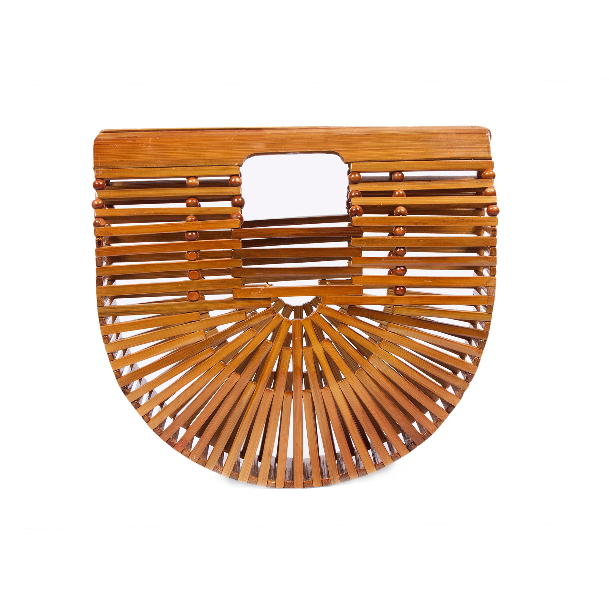 Bags and purse; bamboo ark bag; Cult gaia; black bamboo ark bag; Halfmoon bamboo bag; Wooden handbag; Handbags; Wooden Clutch; Bamboo Clutch; Affordable bamboo ark bag; Bali basket bag; Bamboo bag under $100; Top Handle bamboo bag