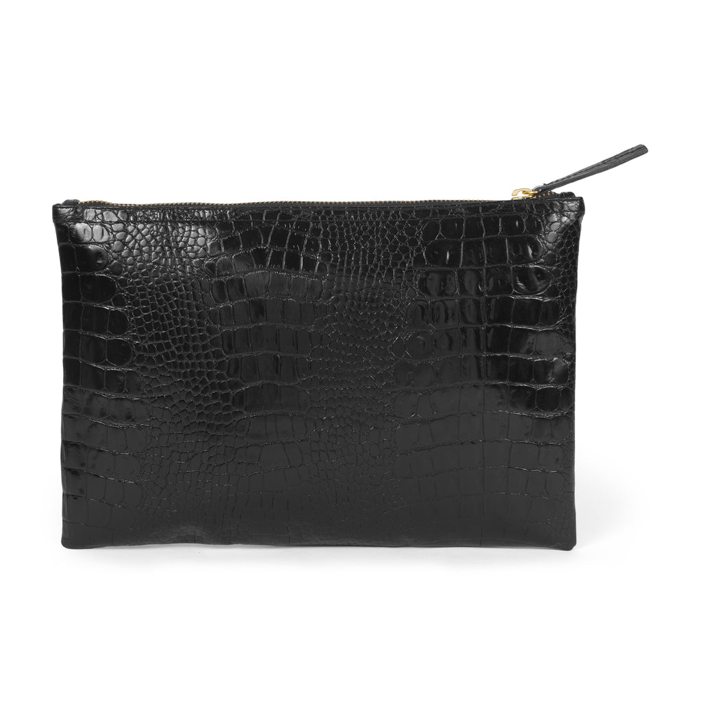 Croco Essential Medium Clutch