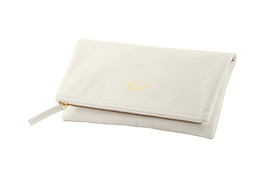 Wedding Gift Idea; Bridal Clutch Purse; Bridal Handbags; Bride bag; Bridal wear; Bride Purse; Monogram Bridal Clutch; Bride-to-be Gift Idea