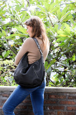 black leather hobo bag; leather hobo bag; hobo bag; hobo bag for women; leather black hobo bag; affordable hobo bag; hobo bags