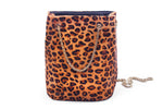 Amelia Bag-Cheetah Print-Drawstring Purse