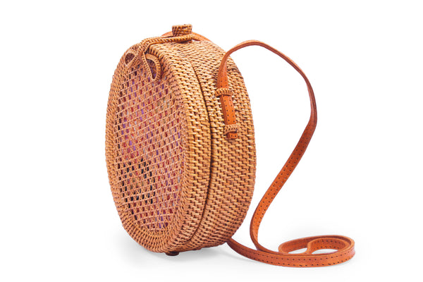 Nusa Round Crossbody Shoulder Bag