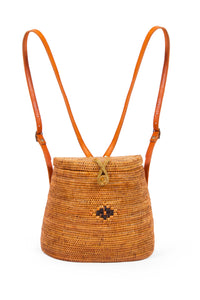 Sustainable Handmade woven Bali Basket Bag for women