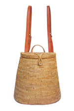 Backpack; ata backpack; woven backpack; bali handbags; straw backpack; backpack for women