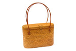 Wicker handbag; Straw bag