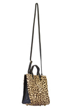 Mia-Leopard Animal Print Mini Leather Tote