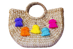 Beach Straw Tote; Beach Bag; Vacation Tote; Straw Bag; Kayu beach bag