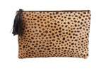 "Handbags, Clutches, Leopard print, Animal Print Clutch, Genuine leather animal print clutch, 8"" inches height x 20"" inches wide handbag, medium flat clutch, bags and purses"