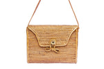 Rectangle Basket Rattan Bag-Ata Bag