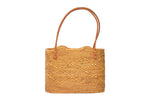 Simple Basket Shoulder Tote Bag