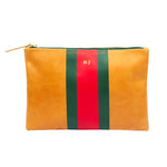 Flat Wallet Essential Monogrammed Clutch