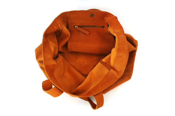 Leather Tote Bag; Tote; Bags and Purses; Sezane