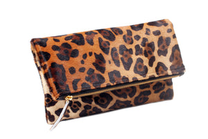 Etsy Genuine Calf Hair Jaguar Leopard Print;Jaguar Print Calf Hair clutch; women's clutch purse; women's handbags; women's purse; calf hair clutch; calf hair leather purse; calf hair foldover bag; calf hair clutch bag; jaguar print calf hair handbag; pony hair handbag; pouches and clutches; foldover clutch leather; foldover clutch with strap; foldover clutch calf hair
