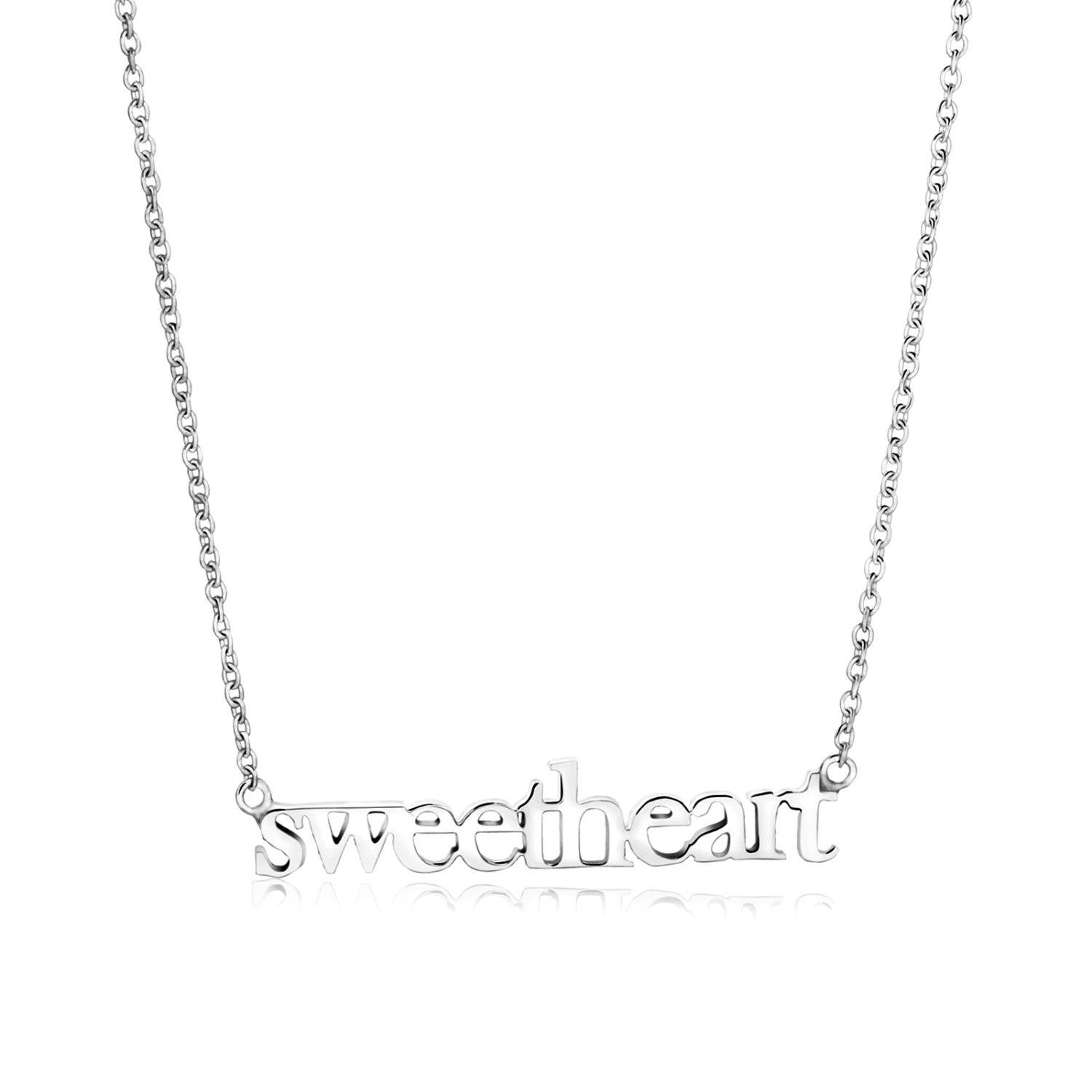 Jennifer Sweetheart Necklace
