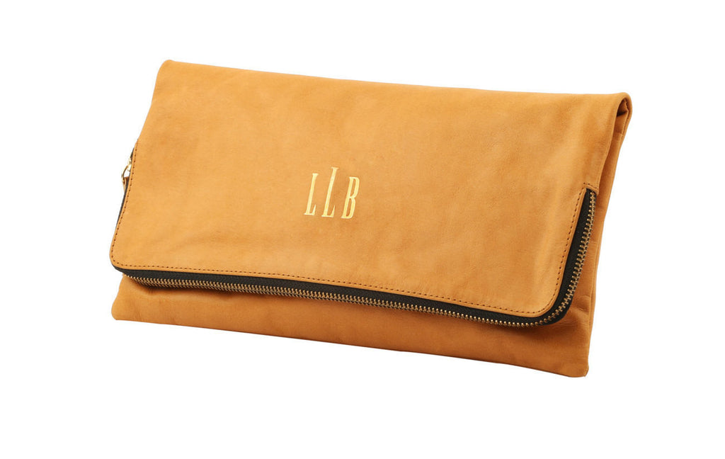 Women's Handbag; Bags and Purses; Clutch Bag; Clutch Purse; Monogrammed Clutch; Personalized Clutch; Monogrammed handbag; Monogrammed Purse; Monogrammed leather clutch; Tan monogrammed purse; Tan monogrammed clutch; bridesmaid gift ideas