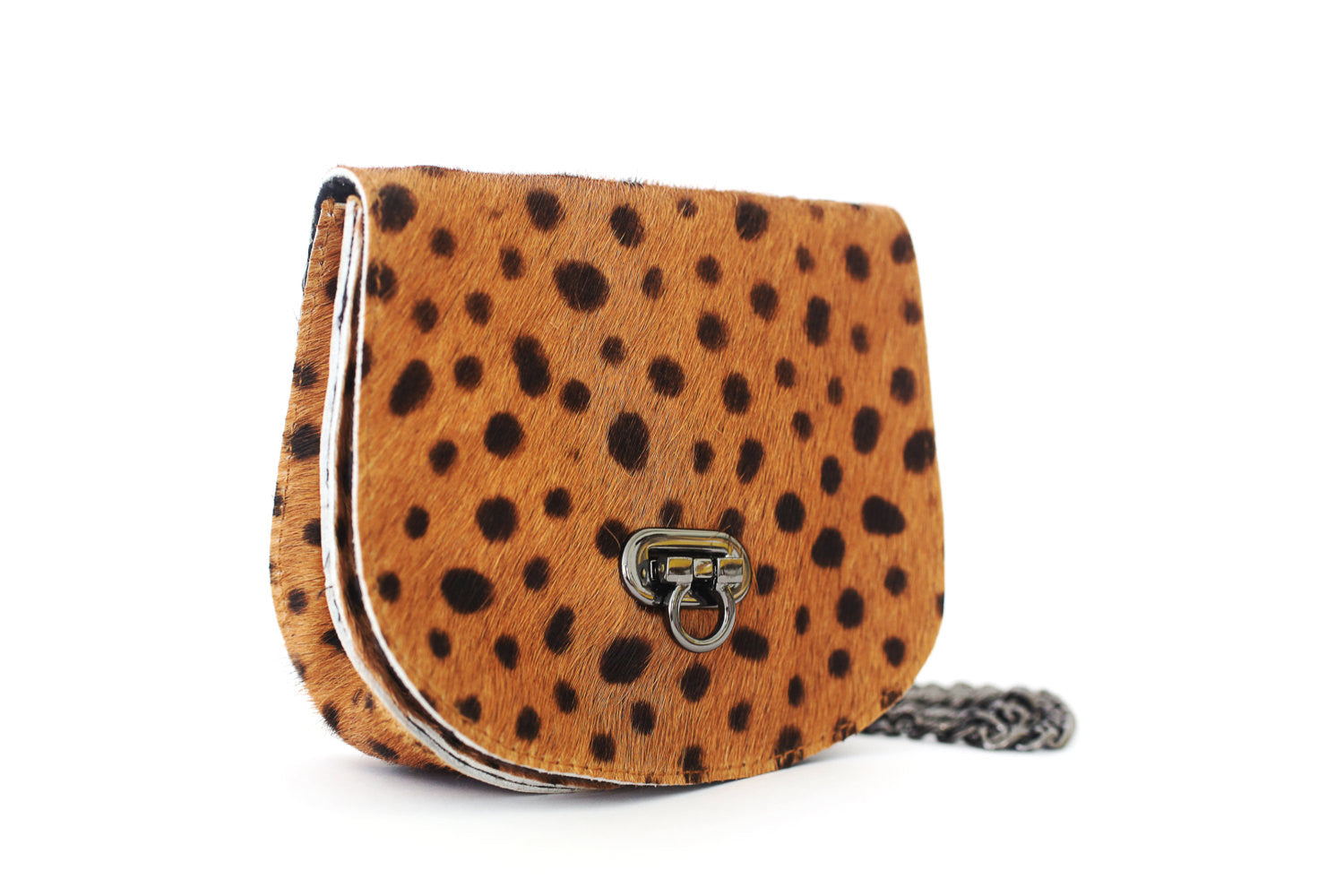 Small Crossbody Bag; Mini Crossbody Bag; Small Crossbody handbag; leather crossbody bag; calf hair crossbody bag; leopard print crossbody bag