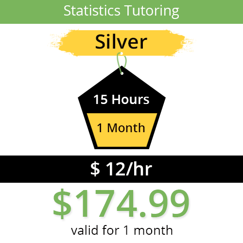 Statistics Tutoring Package - 15 Hours