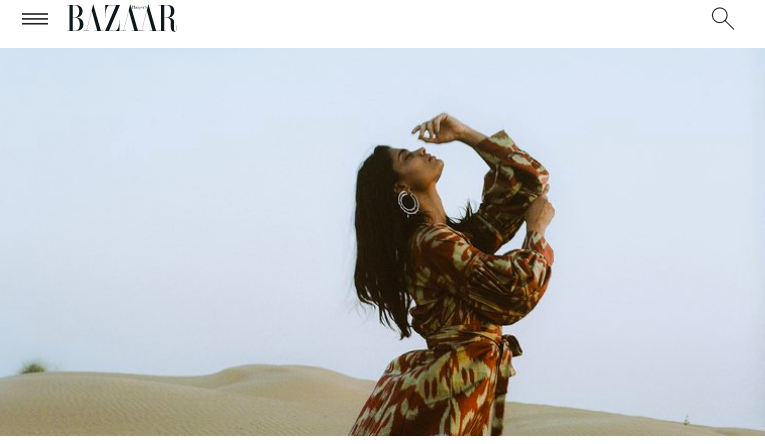 HARPERS BAZAAR GERMANY X ZAZI VINTAGE X MOUNTAIN & MOON