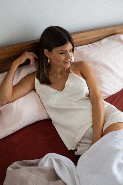 In Bed with Nadia Rosa for Mountain & Moon Muse Jewellery Perth