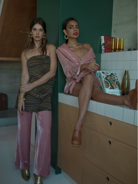 Audrey Allen and Ashton Cameron Designers of Perth Australian Jewellery Label Mountain & Moon Photographed by Indian international photographer Rhea Gupte