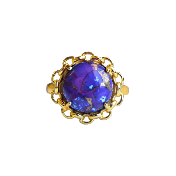 DANICA Ring | Purple Turquoise