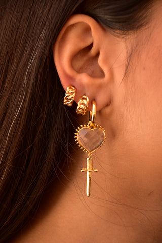 JULIET Earrings | Crystal Quartz