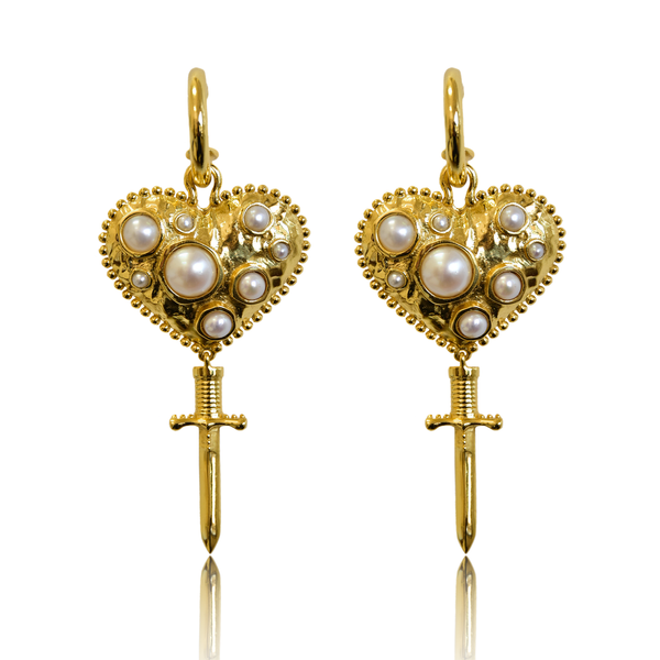 JULIETTA Earrings | PEARL