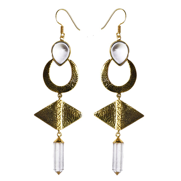 TULAY Earrings | CRYSTAL QUARTZ