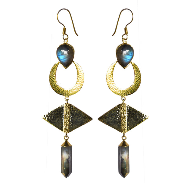 TULAY Earrings | LABRADORITE