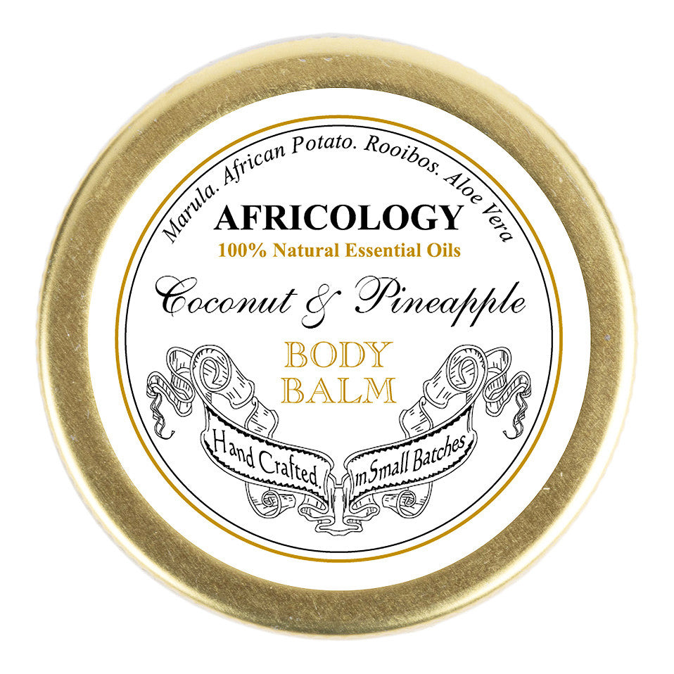 Coconut & Pineapple Body Balm - Africology