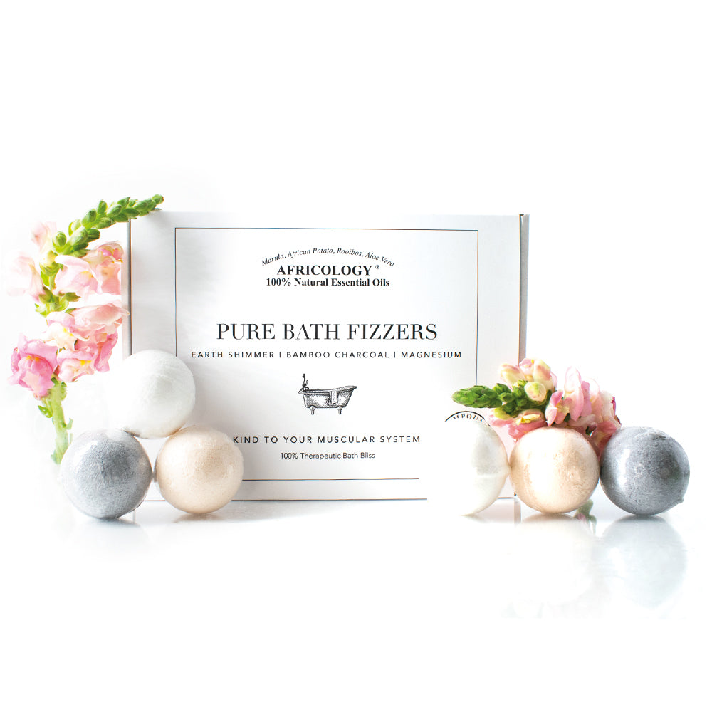Bath Fizzers- Gift Box (Set of 6)