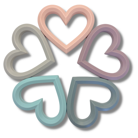 """Adore Silicone Teethers"" - by Nature Bubz®"