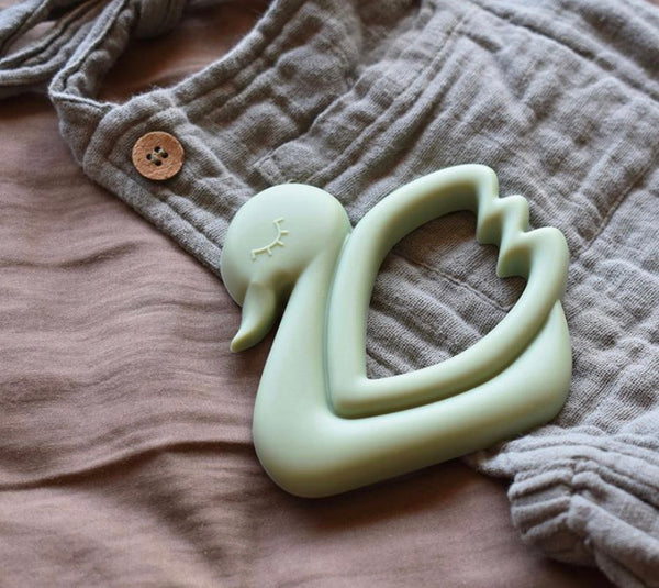 """Silicone Swan Teethers"""