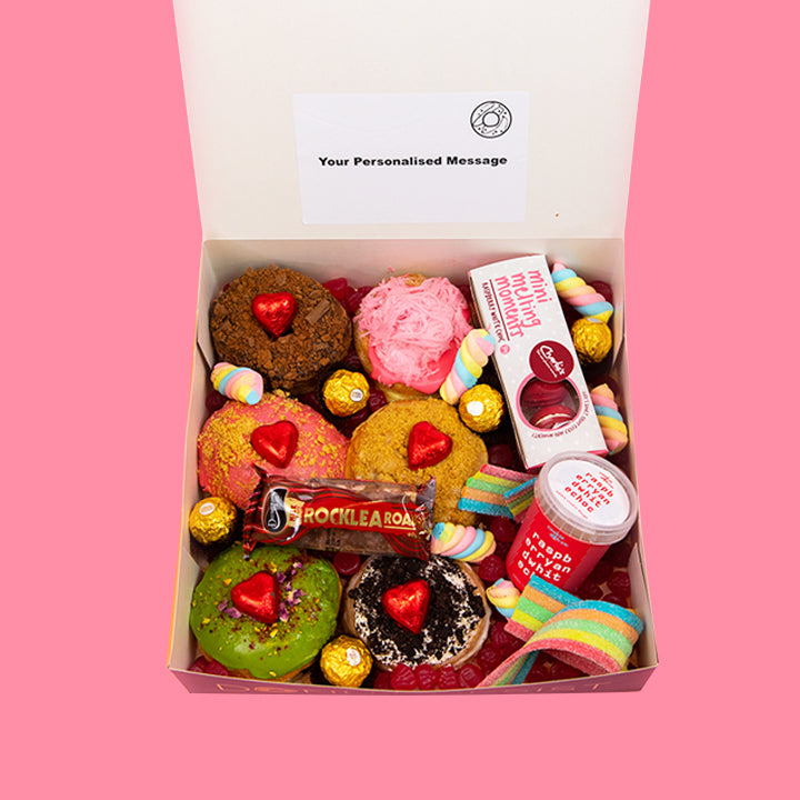 The Hearty Romance Box - Goldeluck's Doughnuts