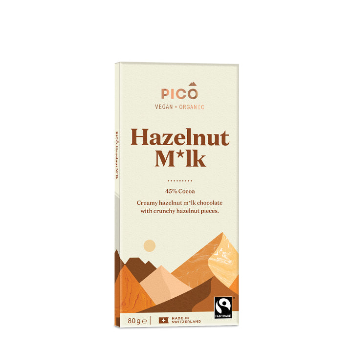 Pico Chocolate Hazelnut Milk (V) - Goldeluck's Doughnuts