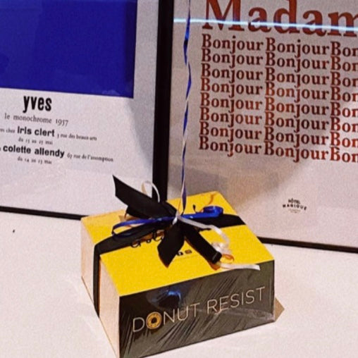 Gift Ribbon & Protective Wrap - Goldeluck's Doughnuts