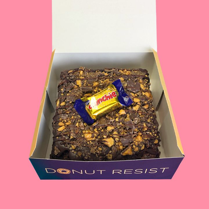 CRUNCHIE Loaded Brownie - Goldeluck's Doughnuts