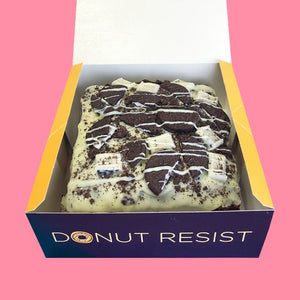 Cookies & Cream Loaded Brownie - Goldeluck's Doughnuts