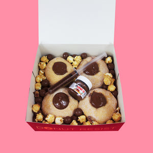 Nuts For NUTELLA® - Goldeluck's Doughnuts