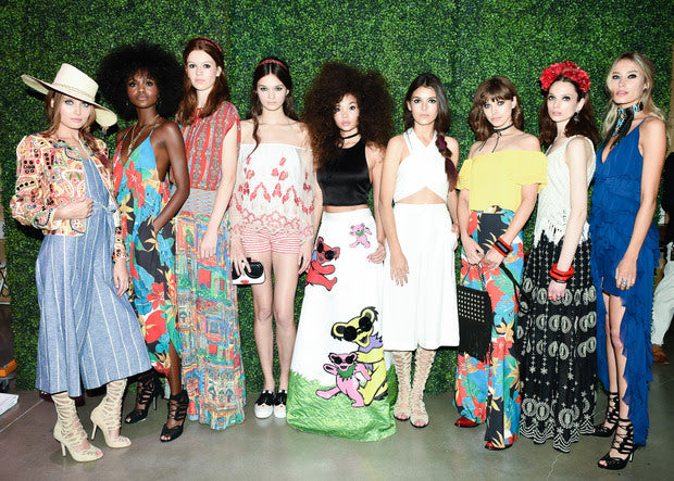 Alice and Olivia X Grateful Dead | See-Now-Buy-Now Runway Show.