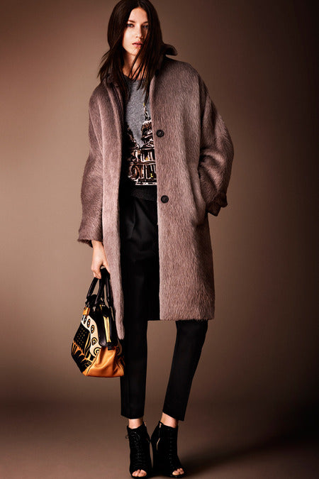 Burberry Prorsum Pre-Fall 2014. An oversized coat always has its day. Don't rule it out.