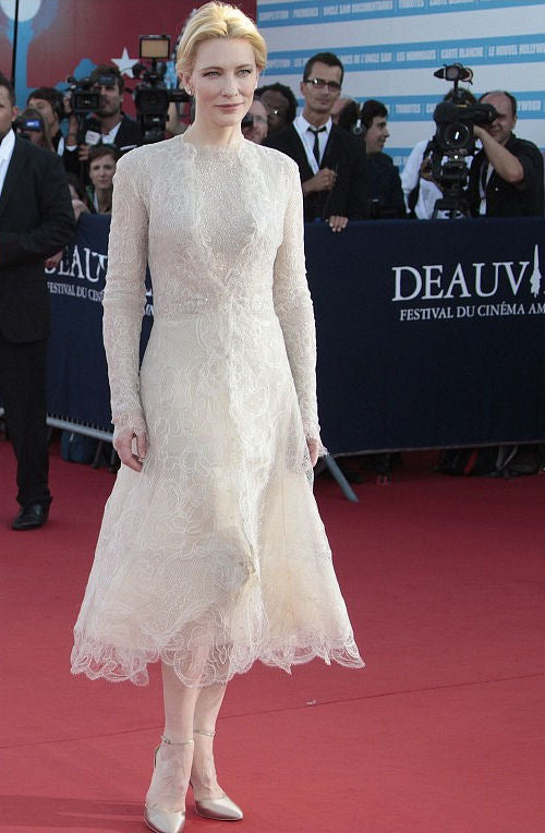 Cate Blanchett - The star oozed elegance in her vintage lace number
