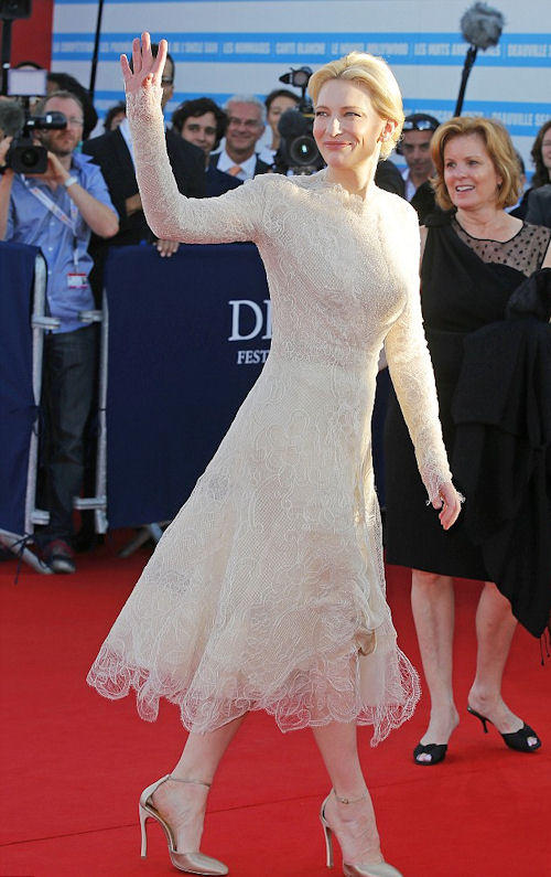 Cate Blanchett looked every inch the elegant movie star at the 39th Annual Deauville Film Festival
